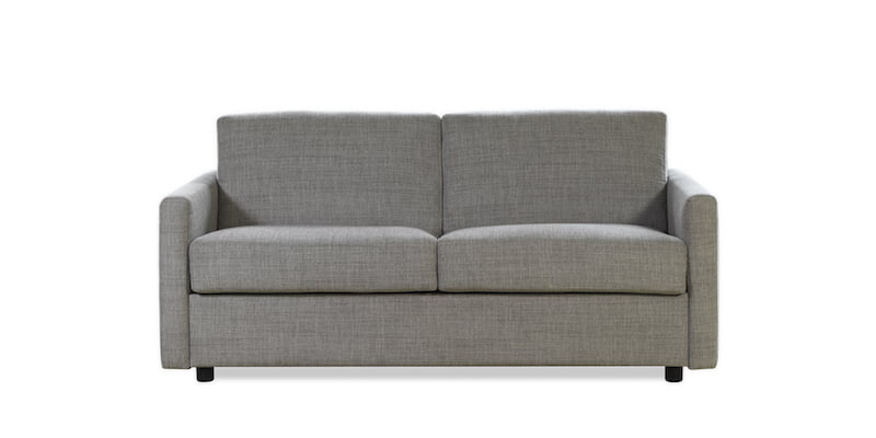extra framåtbäddad soffa