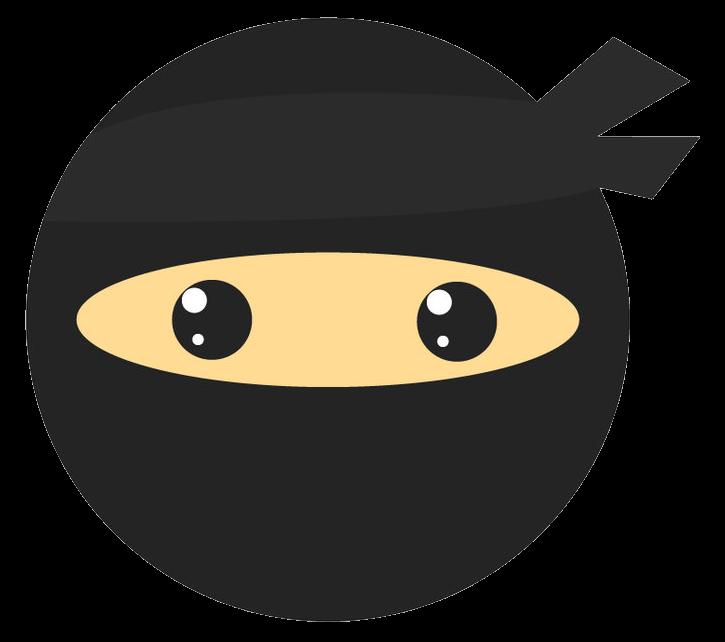 ninja huvud