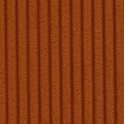 595 Corduroy, Burnt Orange / 5-7 veckor