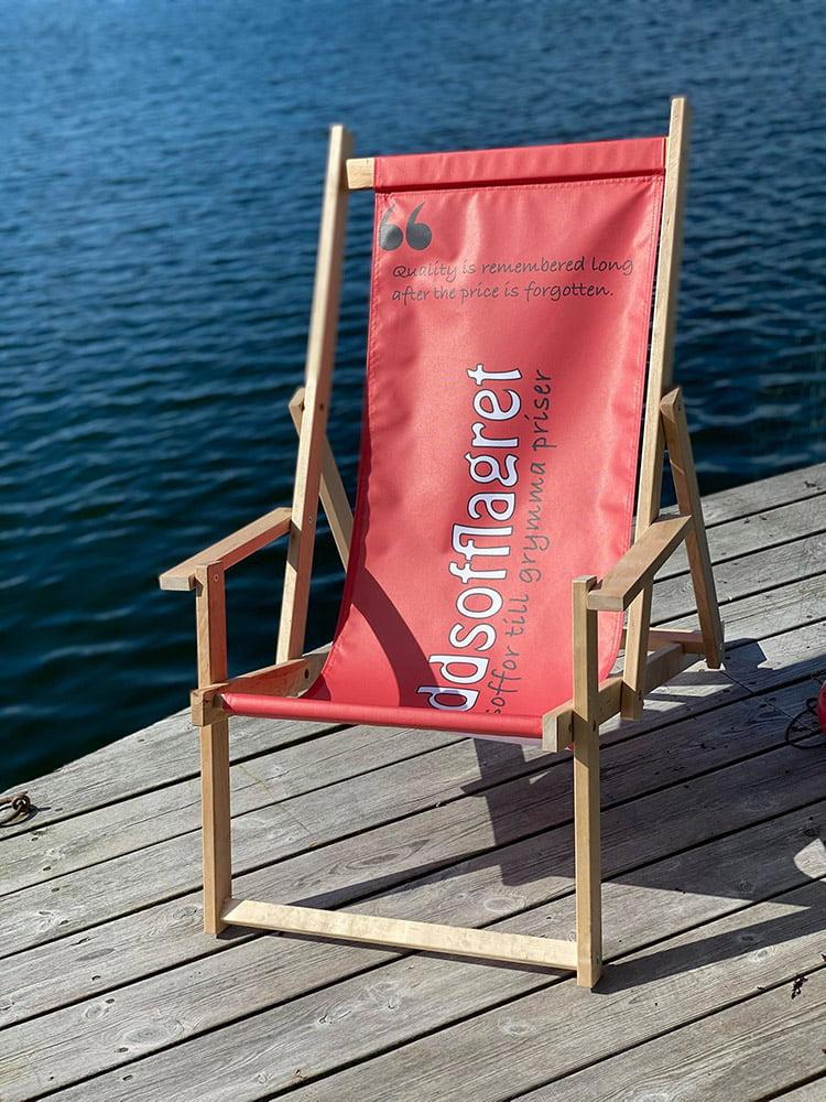 Solstol på köpet