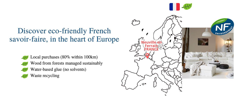 ekologiska bäddsoffor från Frankrike