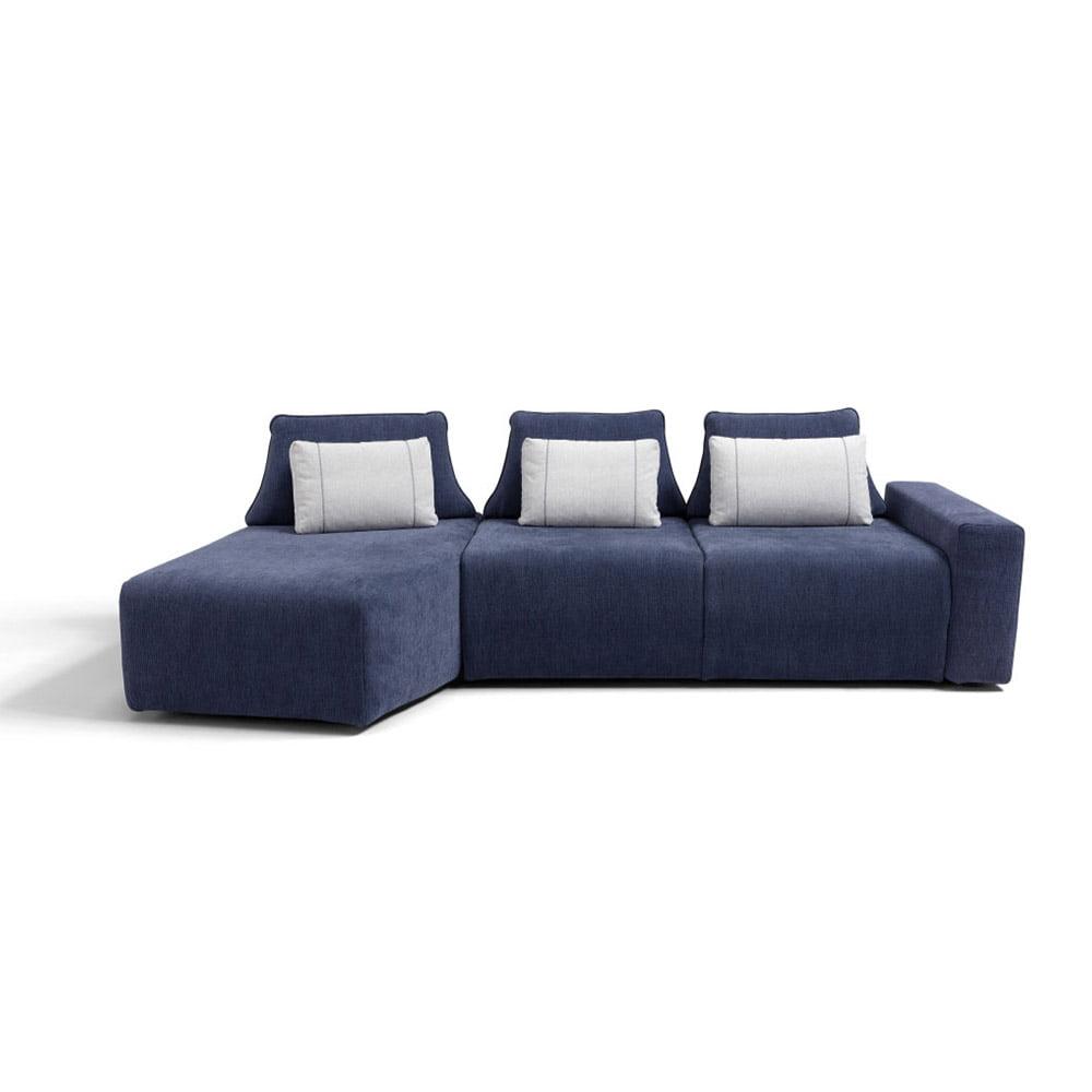key divan med justerbar rygg
