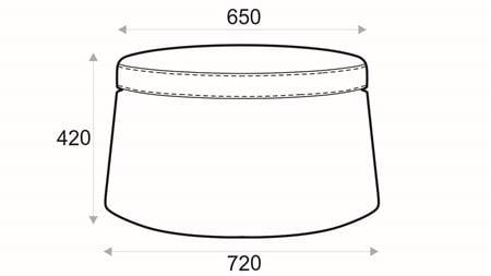 Store bordpall stor från Hovden